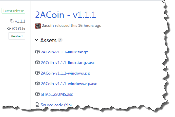 2ACoin - v1.1.1 Release