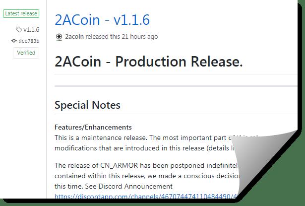 2ACoin v1.1.6