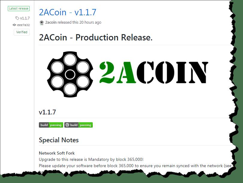 2ACoin v1.1.7