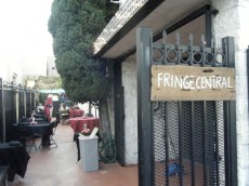 Patio at Fringe Central