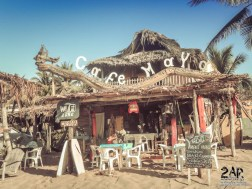 Unser Host das Caffe Maya