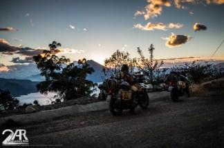 späte Ankunft am Lago de Atitlan