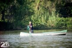 Fischer auf dem Rio Sumidero
