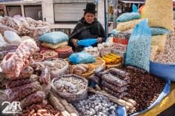 Typischer Süßkram auf dem Markt