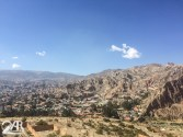 Blick von Oscars Platz auf La Paz
