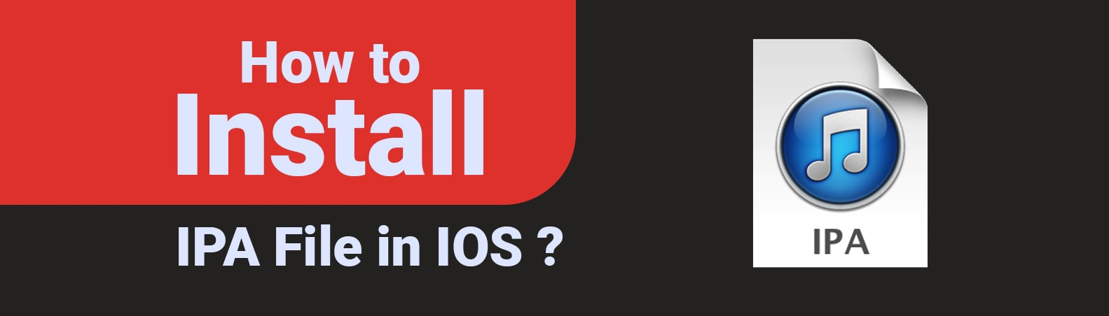 How to Install IPA File in IOS ? – IOS App IPA