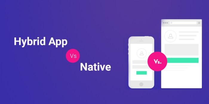 Hybrid App Vs Native - Which is good? - Hybrid or Native App