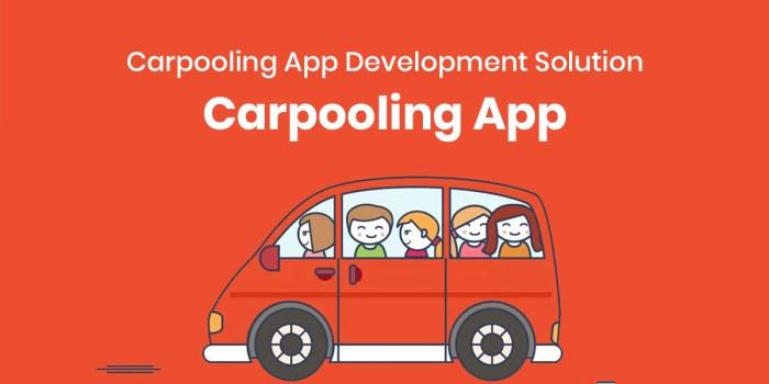 Carpooling App Development Solution | Carpooling App