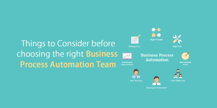 Things to Consider before Choosing the Right Business Process Automation Team