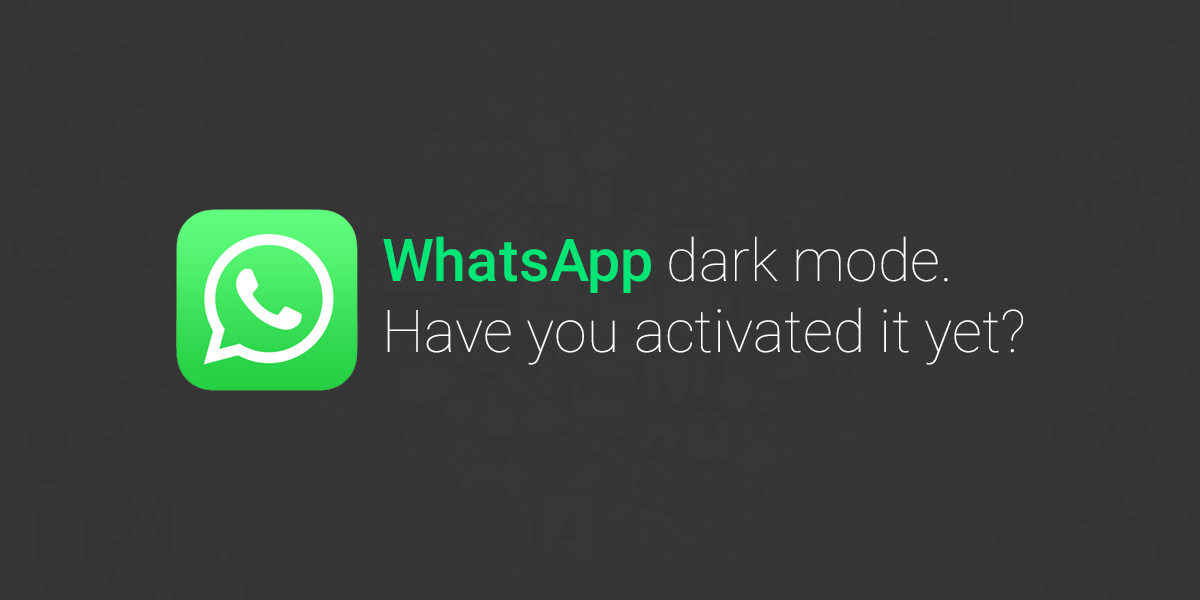 whatsapp-dark mode