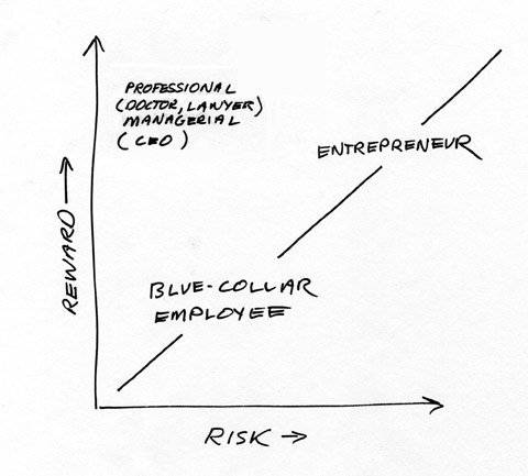 risk/reward - professionals