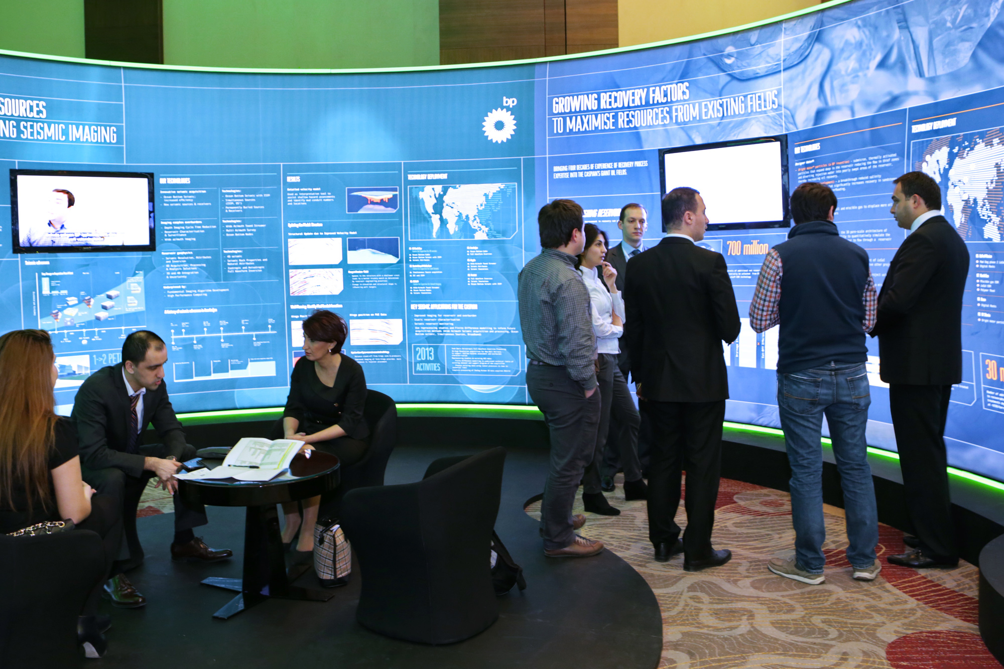 Exhibition Design for BP at The Technology Forum