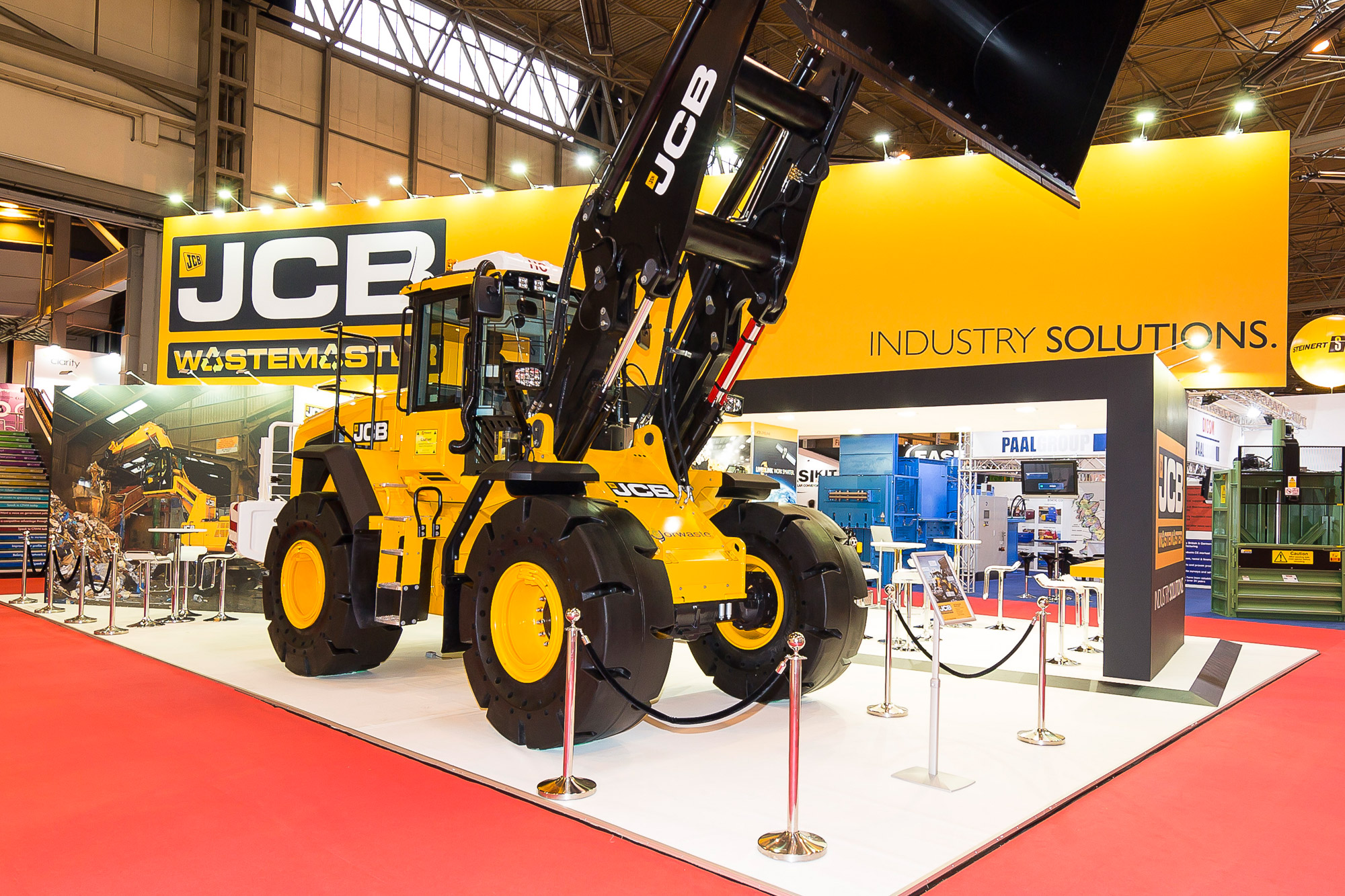 Exhibition design for JCB at RWM