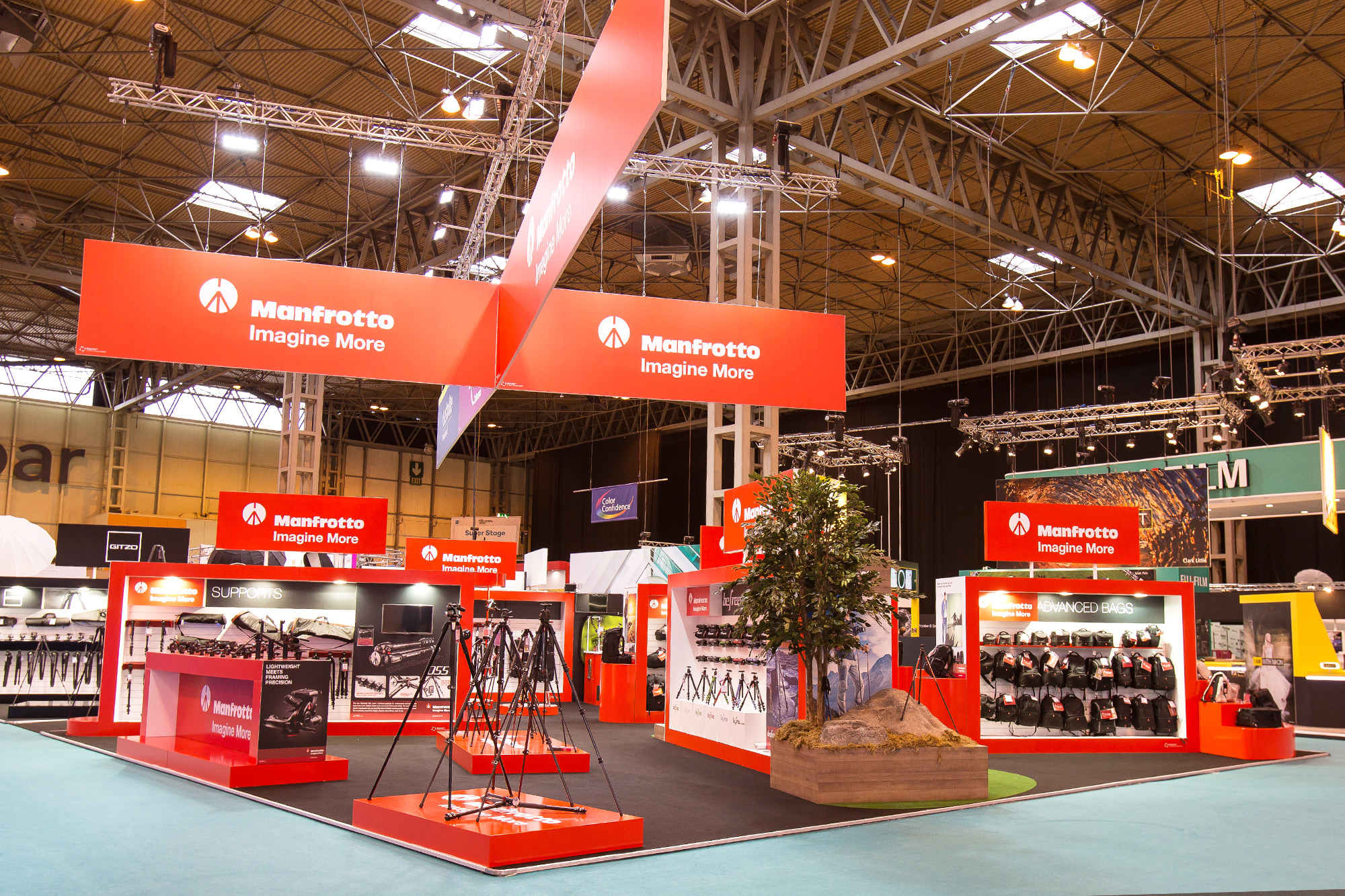 Exhibition Design for Manfrotto at The Photography Show