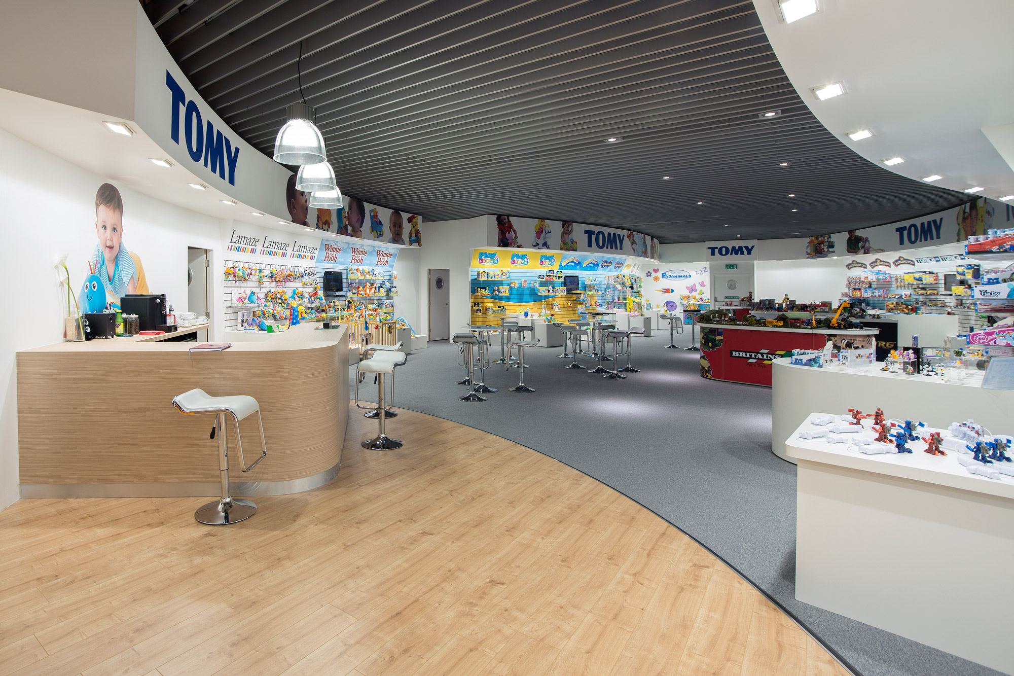 Tomy Nuremberg showroom design