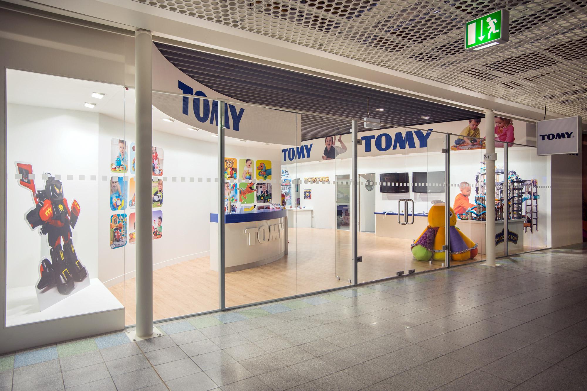 Tomy Nuremberg showroom design