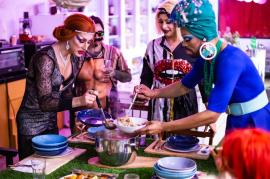 Drag Queens Cooking Party and LIVE SHOW