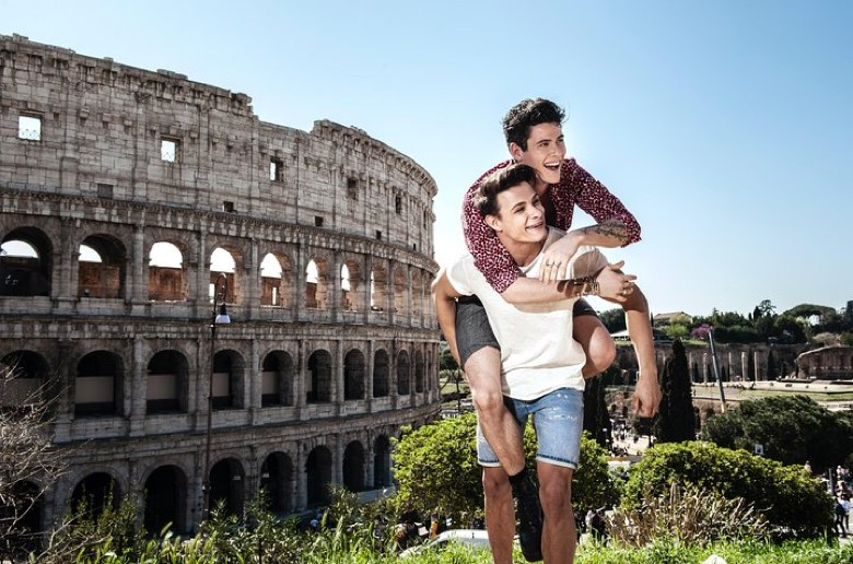 Gay Tour of Rome: Colosseum and the Domus Aurea
