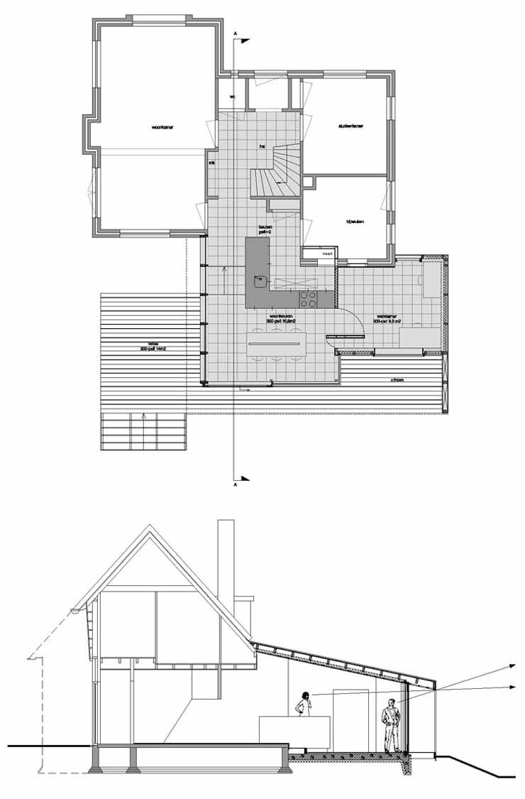 hight resolution of 2by4 villa uitbreiding ontwerp