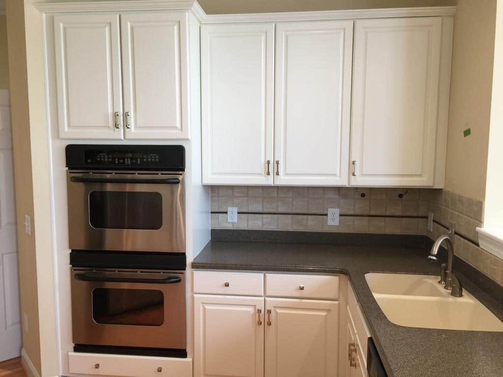 updating kitchen cabinets faucet installation cost sw westhighland white - 2 cabinet girls