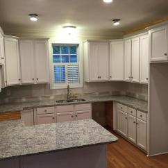 Custom Kitchen Cabinet Area Rugs For Hardwood Floors Toque White 2 Day Transformation - Girls