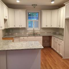 Sherwin Williams Paint For Kitchen Cabinets Glazed Toque White 2 Day Transformation - Cabinet Girls
