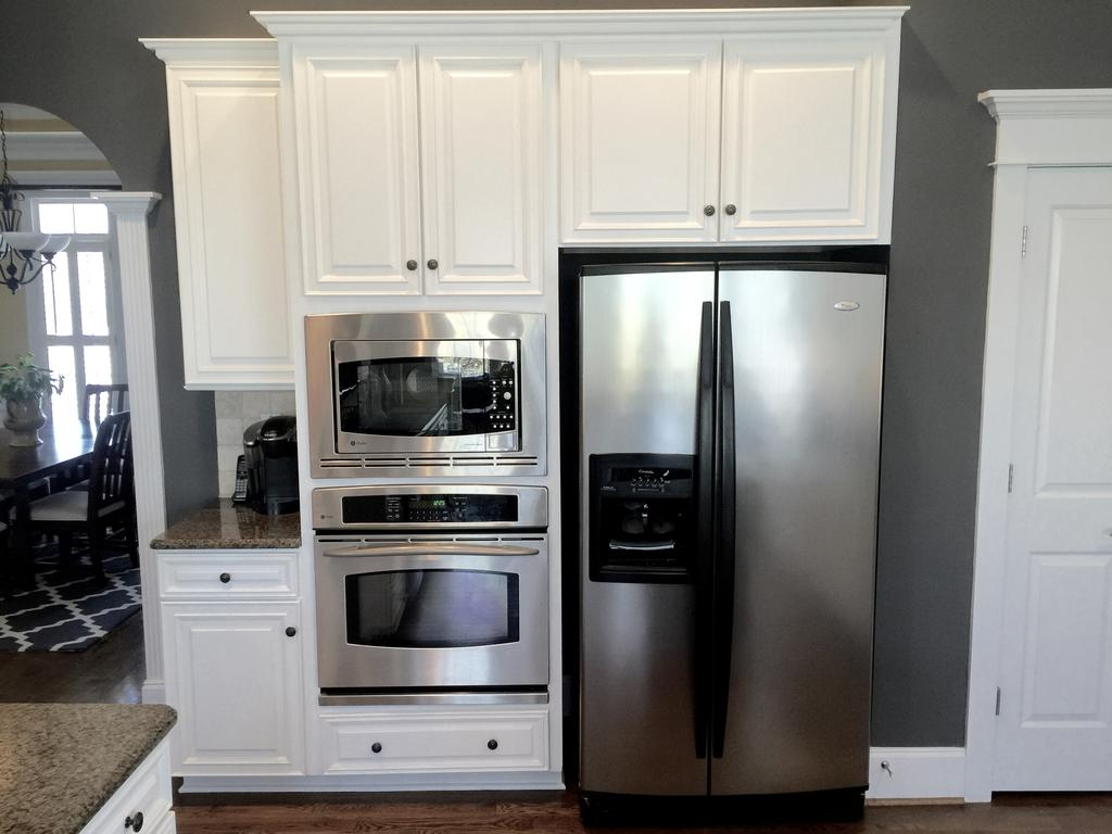 used kitchen cabinet doors delta lewiston faucet sherwin williams extra white and benjamin moore steel wool ...