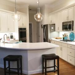 White Kitchen Cabinets Runner Rugs For Balboa Mist - 2 Cabinet Girls