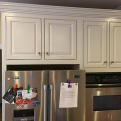 Black And White Tile Kitchen Backsplash Moen Faucet With Pull Out Sprayer Balboa Mist Update - 2 Cabinet Girls