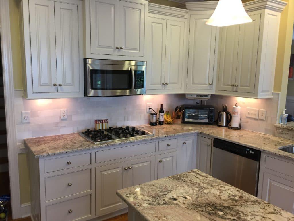 affordable kitchen cabinets organizing ideas balboa mist update - 2 cabinet girls