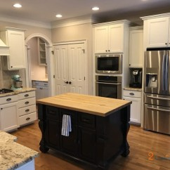 How Much Are New Kitchen Cabinets Cheap Unfinished For Kitchens Nacre With Tony Taupe Glaze - 2 Cabinet Girls