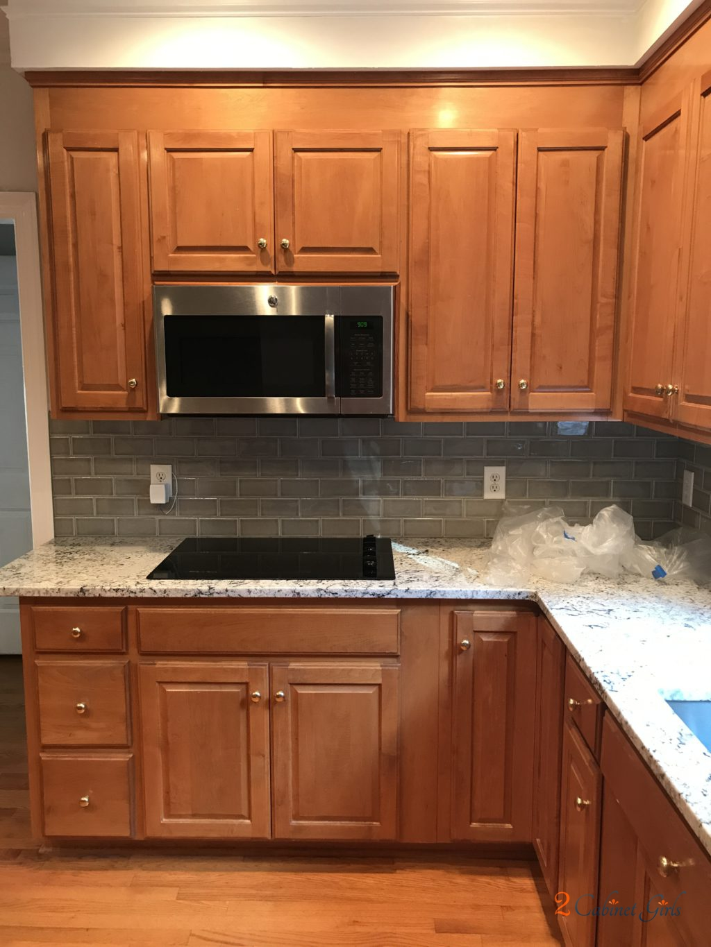 how much are new kitchen cabinets lighting in extra white / gray matters island - 2 cabinet girls