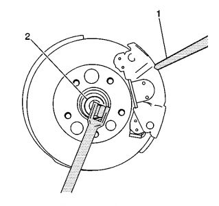 2002 Pontiac Grand Prix Wheel Hub and Bearings