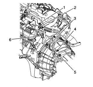 Camshaft Position Sensor Location Chevy 8 1, Camshaft