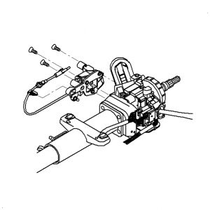 1995 Chevy Steering Column, 1995, Free Engine Image For