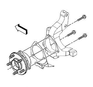 2004 Chevy Monte Carlo Wheel Bearing Amd Hub Assemble
