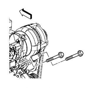 2000 Pontiac Montana Alternator: Electrical Problem 2000