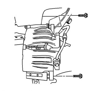 2003 Chevy Trailblazer BRAKE CALIPER REMOVAL: ON MY FRONT