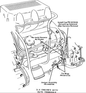 1989 Plymouth Acclaim Solenoid Installation: Transmission