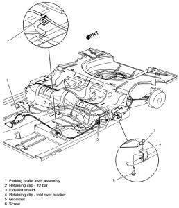 1998 Chevy Cavalier Parking Brake: How Do You Adjust the