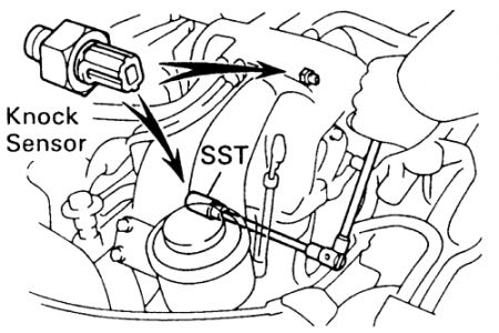 1994 Toyota Pickup Knock Sensor Location: I Cannot Find
