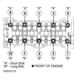 Geo Prizm Engine Bolts, Geo, Free Engine Image For User