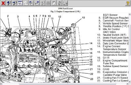 1995 ford 1 9 engine diagram - free wiring diagram for you \u2022 - cobra