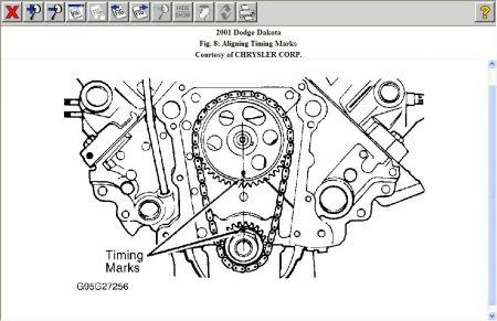 2001 Dodge Dakota Timing Chain: Engine Mechanical Problem