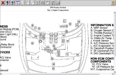 1995 Pontiac Firebird Knock Sensors: Where Exactly Are the