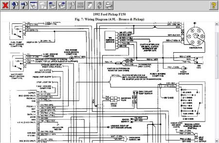 1992 f150 wiring harness  description wiring diagrams sick