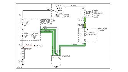 1999 Mazda 626 Charge Light Problem: Hi, We Have a 1999