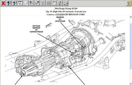 2006 Dodge Charger O2 Sensor Wiring Diagram O2 Sensor 2005