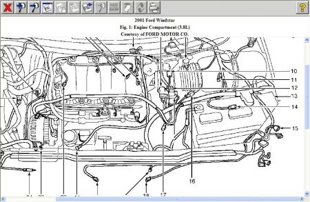 Ford Windstar Cooling System Diagram, Ford, Free Engine