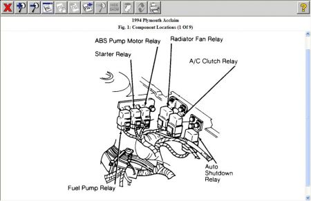 Fuel Pump Relay Position: I Have a 5.8 Liter and Would
